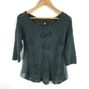 Knitted & Knotted Anthropologie Sweater 3424